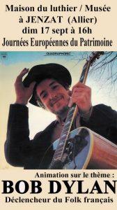 Bob Dylan Déclencheur du Folk français
