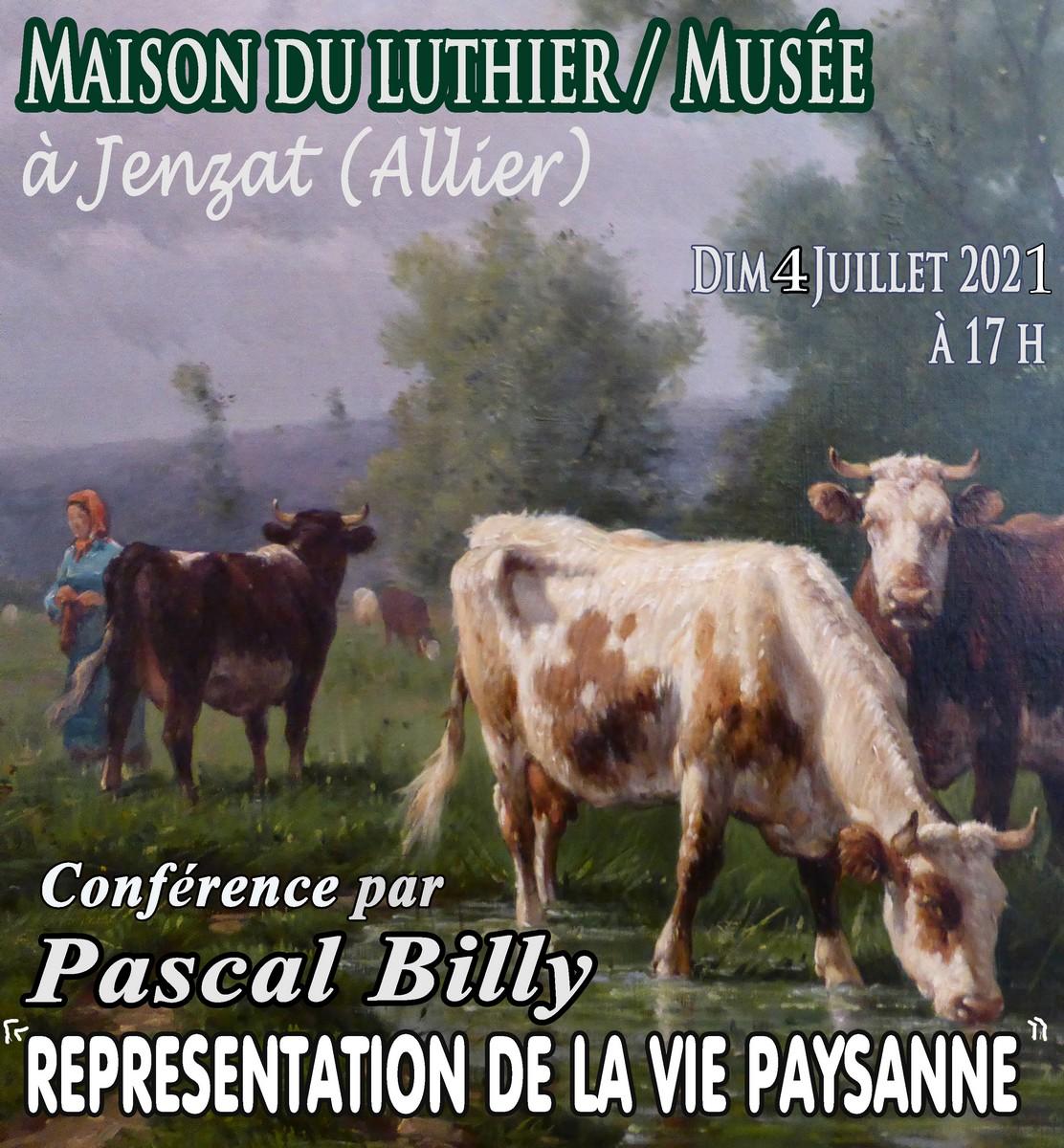 Conférence Représentation de la Vie Paysanne 4 juillet 2021