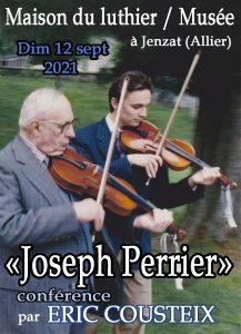 Joseph Perrier conférence par Eric Cousteix